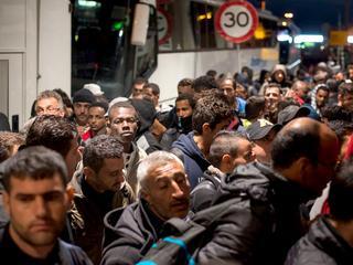 Vluchtelingen zijn vrij om te gaan en staan waar ze willen