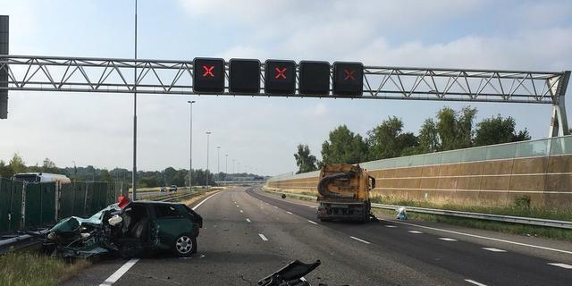 Spookrijder zorgt voor dodelijk ongeval op A16 bij Breda richting Antwerpen