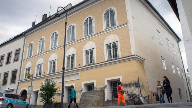 Hitlers geboortehuis wordt gesloopt