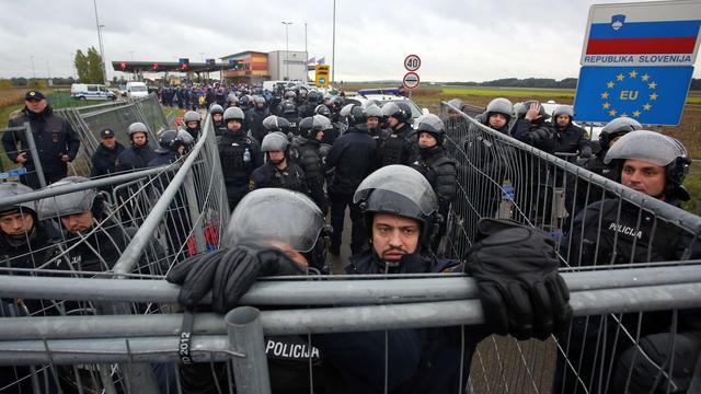 Slovenië wil leger inzetten bij grenscontroles
