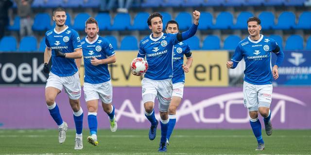 FC Den Bosch rest van seizoen met tekst 'samen tegen racisme' op shirt