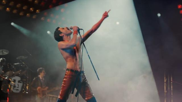 Rami Malek als Freddie Mercury in trailer Bohemian Raphsody
