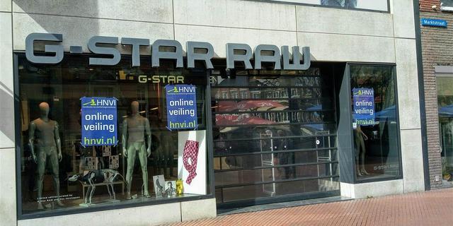 Filiaal van G-Star RAW op Marktstraat in Eindhoven failliet
