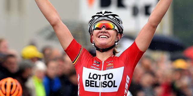 Opnieuw etappezege D'Hoore in Ladies Tour