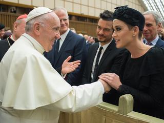 Stel ontmoette de Paus