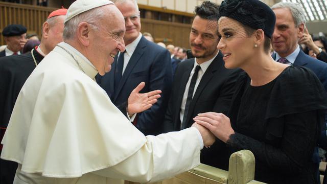 Katy Perry en Orlando Bloom voor eerst samen in het openbaar gezien