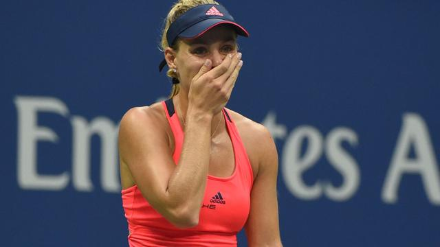 US Open-winnares Kerber kan prestaties in 2016 amper bevatten