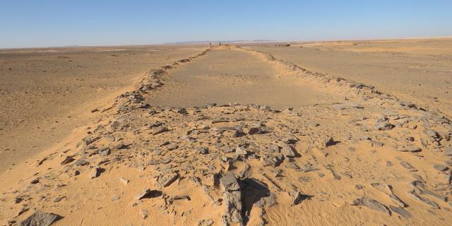 Prehistorische bouwwerken zonder bekend doel ontdekt in Saoedi-Arabië