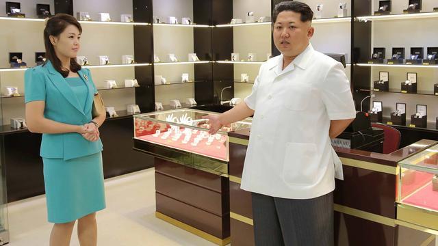Vrouw van Kim Jong-un verschijnt weer in openbaar