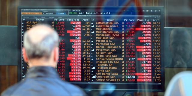 'Italië overweegt 40 miljard euro steun voor bankensector'