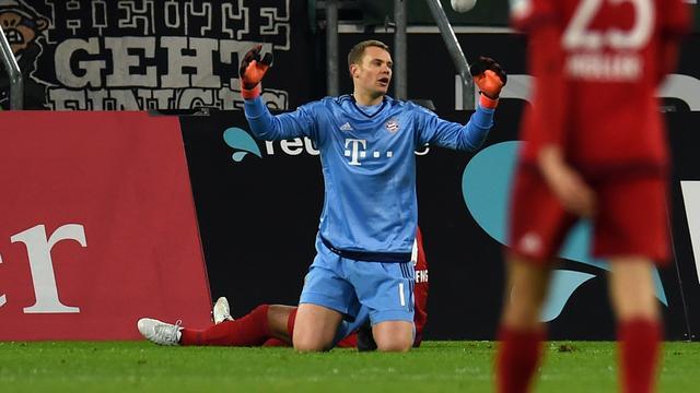 Bayern verliest ongeslagen status, Dortmund profiteert bij Wolfsburg