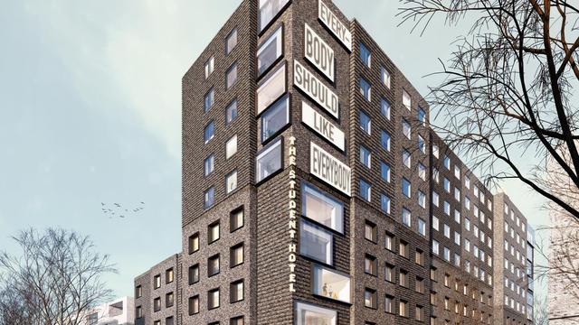Nieuw hotel in Overamstel met 490 kamers