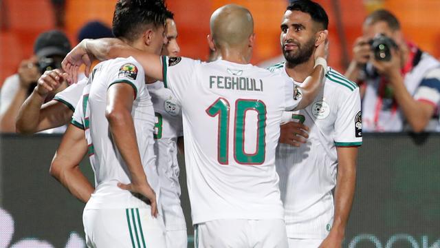 Algerije klopt Nigeria in extremis en treft Senegal in finale Afrika Cup