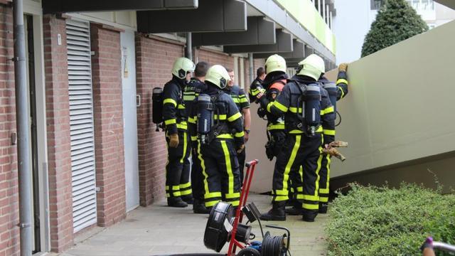 Brand gewoed in souterrain bij Jan Darkennisstraat