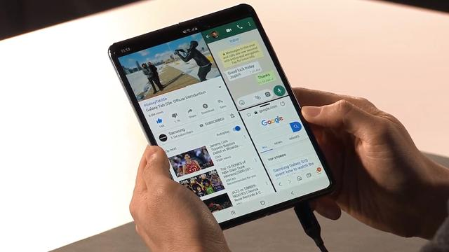 Samsung brengt herziene versie van opvouwbare telefoon in september uit