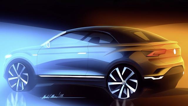 Volkswagen komt over twee jaar met open T-Roc