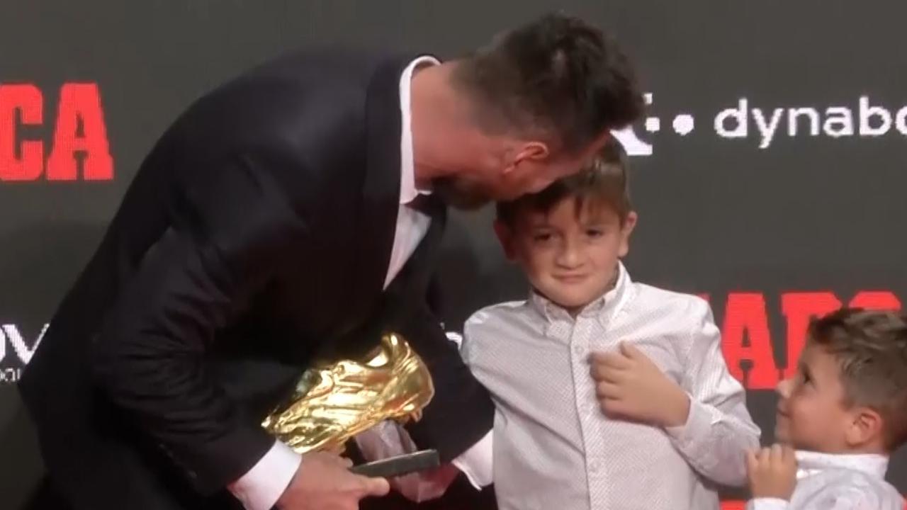 Messi wint voor de zesde keer Gouden Schoen