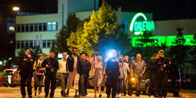 Tien doden bij schietpartij München, schutter handelde alleen