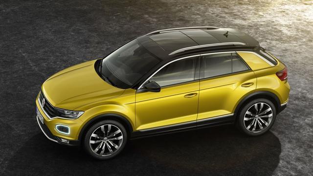 Volkswagen maakt prijzen T-Roc bekend