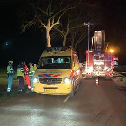 Twee doden en twee zwaargewonden bij verkeersongeval in Drents Hooghalen.