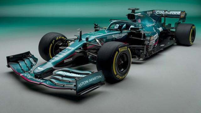 Aston Martin keert voor het eerst sinds 1960 terug in de Formule 1.