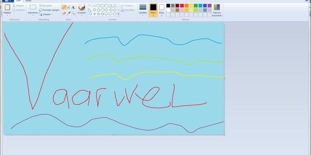 Microsoft stopt ondersteuning traditionele versie tekenprogramma Paint