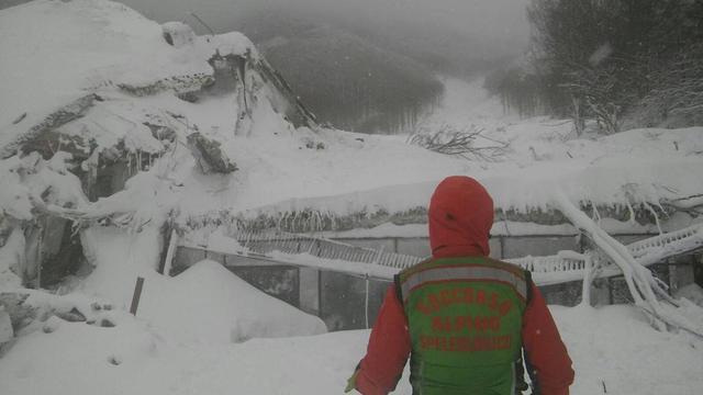 'Veel doden in door lawine getroffen hotel Italië'