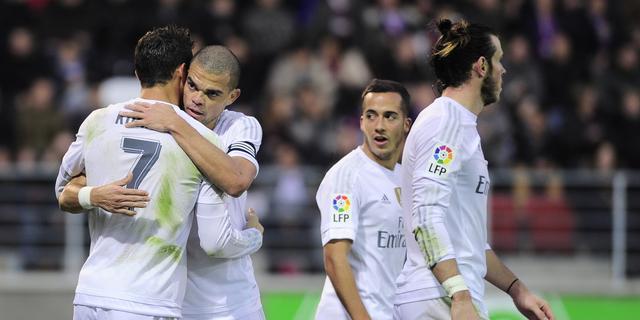 Real verslaat Eibar, Sneijder en Galatasaray geven zege uit handen