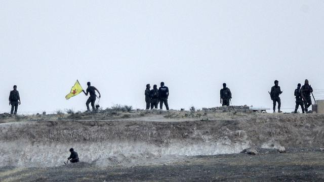 Koerden heroveren legerbasis op IS