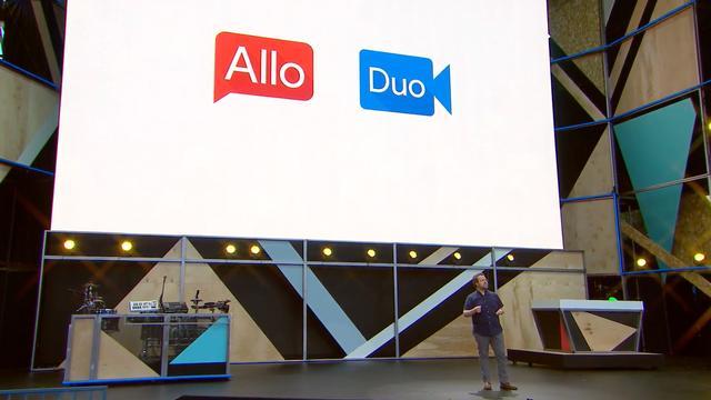 Googles berichten- en videobel-apps Allo en Duo verschijnen deze zomer