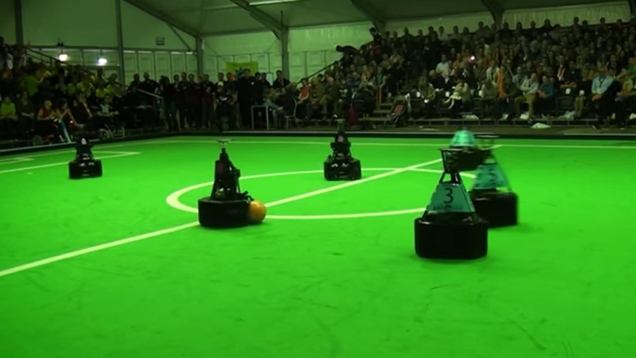 Samenvatting finale EK Robotvoetbal 2016