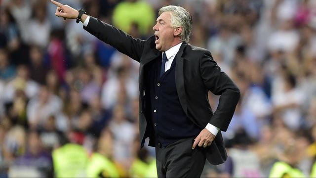 Ancelotti was al twee jaar trainer bij Real Madrid.