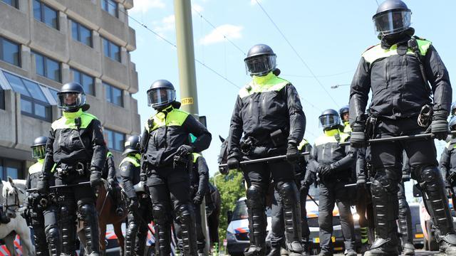 Nog drie arrestaties vanwege rellen na verboden demonstratie in Den Haag