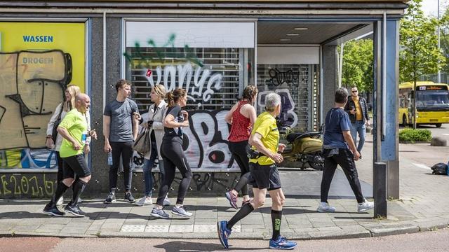 Honderden deelnemers marathon Utrecht verkeerde kant opgestuurd