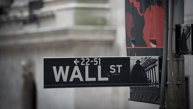Wall Street doet klein stapje terug