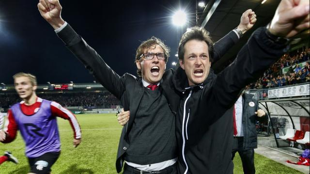 Trainer Pastoor emotioneel na kampioenschap met Sparta