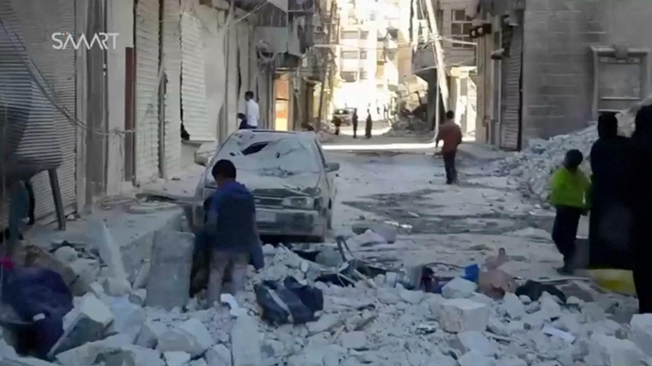 Aleppo weer doelwit van hevige luchtaanvallen