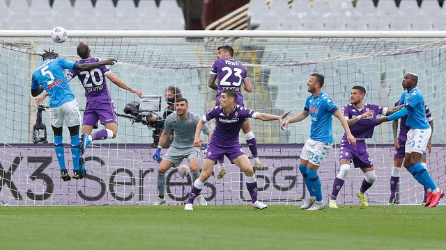 Napoli rekende na rust af met Fiorentina.