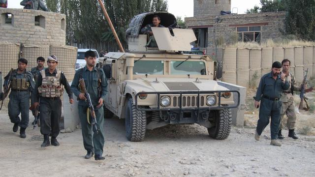 Leger VS ramt hek gebombardeerde ziekenhuis Afghanistan