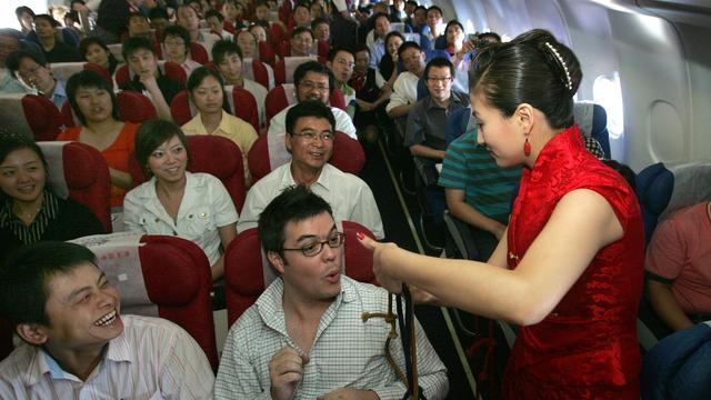 'Zwarte lijst' voor Chinezen die zich misdragen in vliegtuig