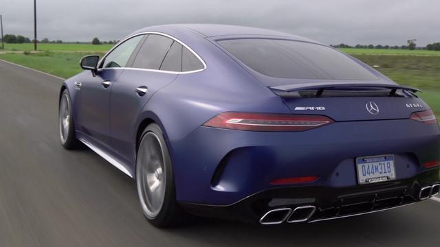 Eerste rijtest: Mercedes-AMG GT 4-Door Coupé