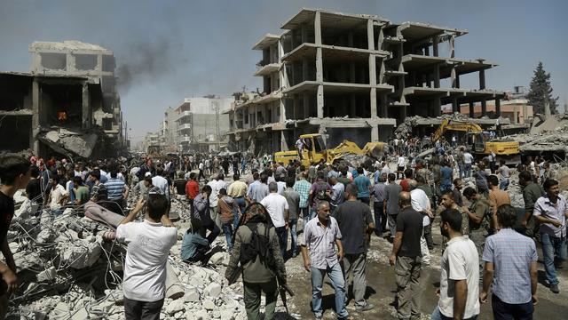 Tientallen doden door bomaanslagen in Syrië