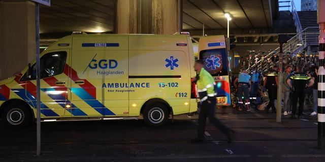 Fietser zwaargewond bij val naast trambaan op Lekstraat