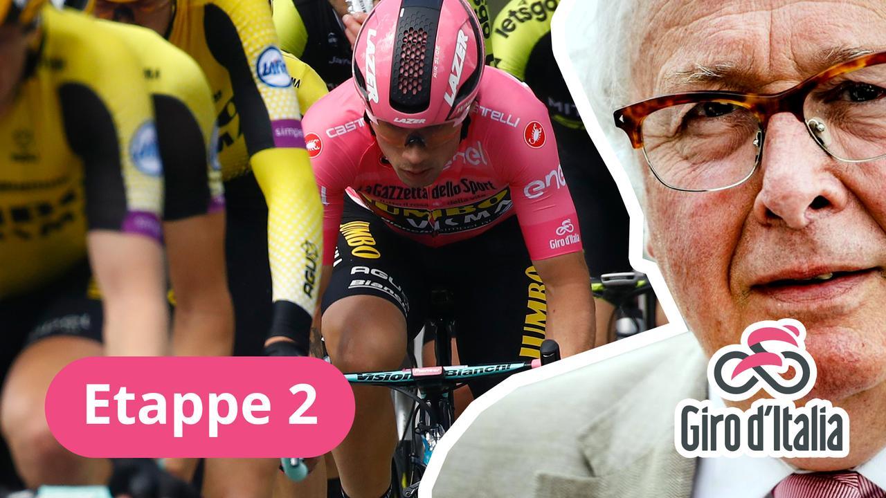 Mart bespreekt de Giro: 'Dumoulin deed het werk voor Roglic'