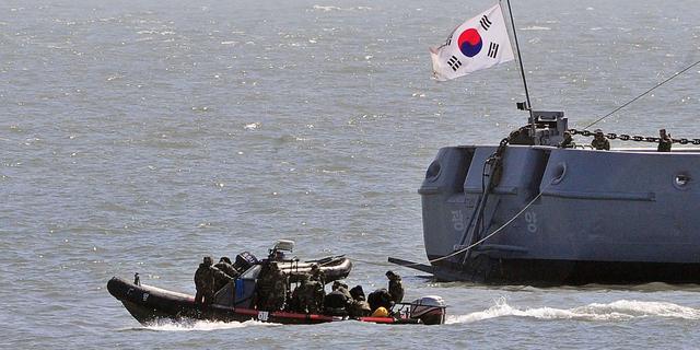 Confrontatie tussen Noord- en Zuid-Korea bij zeegrens