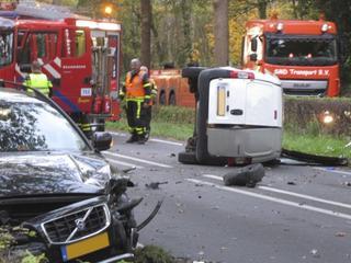 Niet bekend of inzittenden gewond raakten