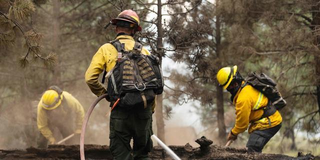 Nederlander Gert helpt bij bestrijden natuurbranden in de VS