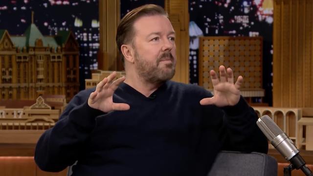 Ricky Gervais heeft alleen geen hekel aan kat en hond