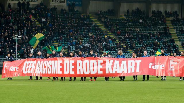 Rode kaart van ADO Den Haag tegen racisme