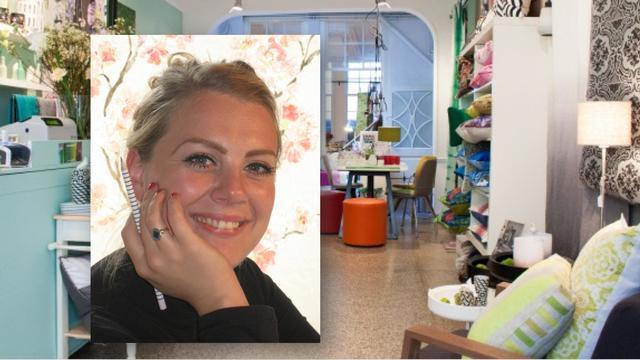 Hakketak, Francine sprak… Emma Biemans van de gelijknamige interieurwinkel